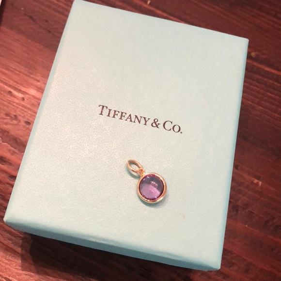 24d3cbe58 Tiffany & Co. Jewelry | Tiffany Co 18k Gold Amethyst Dot Charm ...